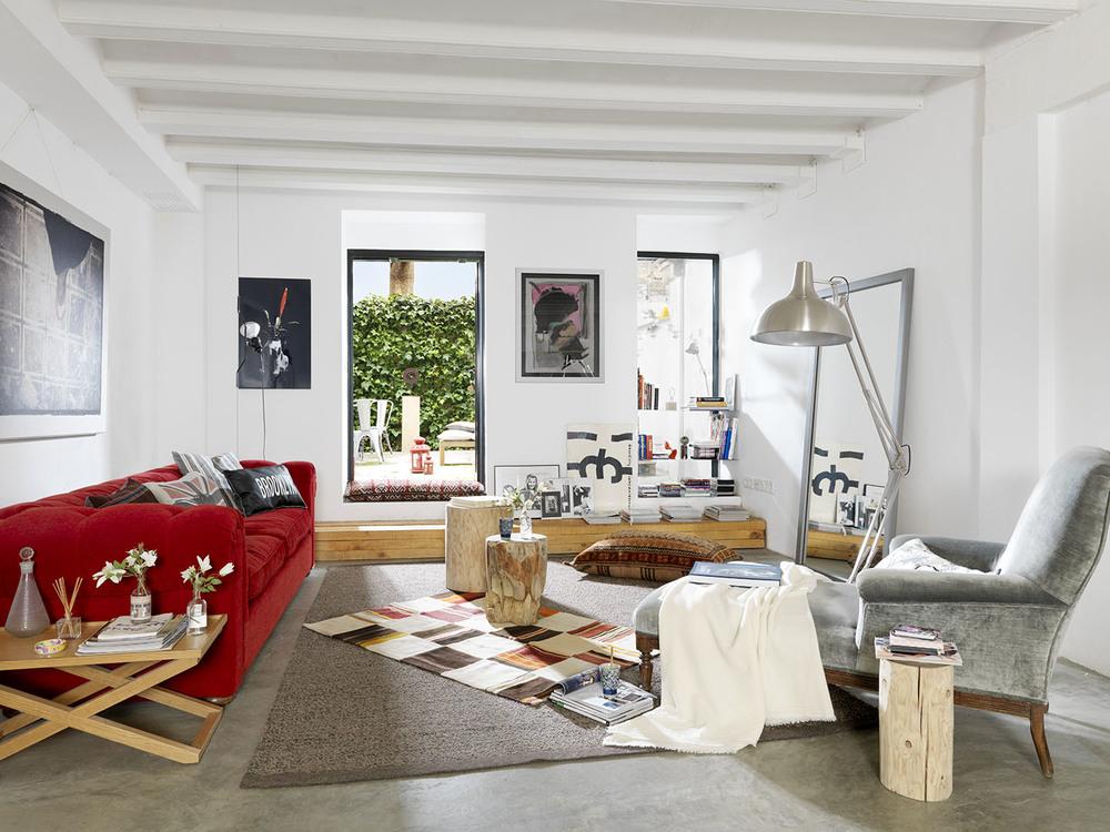 decoración de áticos - mobiliario funcional