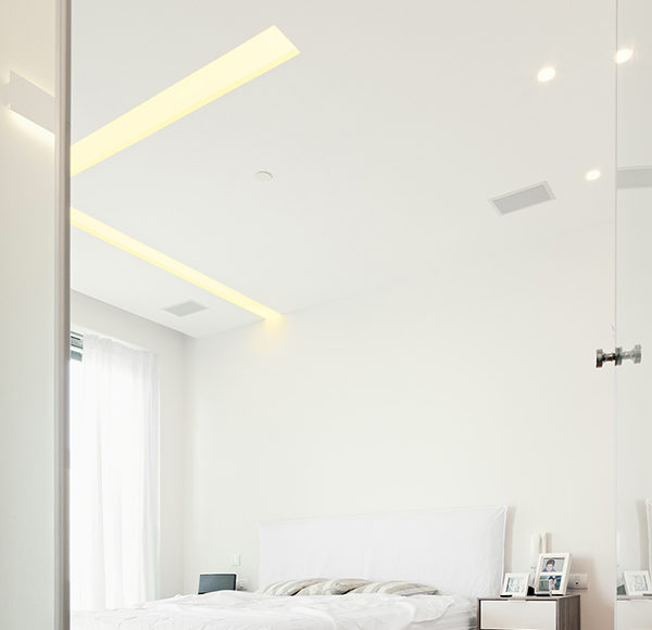 dormitorios blancos - estilo minimalista