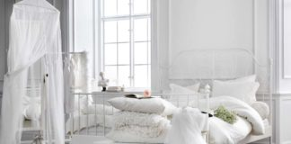 dormitorios blancos romanticos