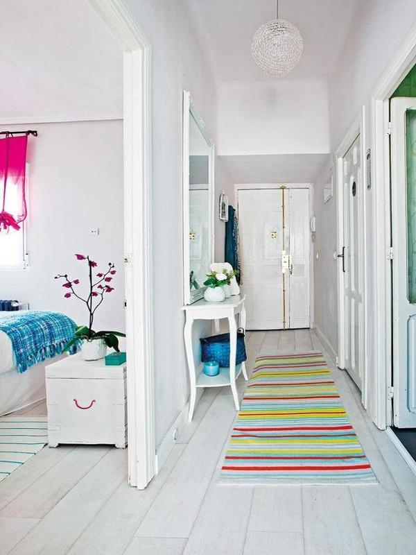 mueble recibidor pequeño - zona con encanto
