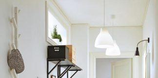 mueble recibidor pequeño - espacio multifuncional