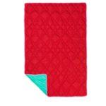 ikea coleccion ps 2017 pe593885 manta poliester rojo turquesa 1