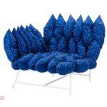 ikea coleccion ps 2017 pe597119 sillon esquina cojines acero revestimiento poliester azul oscuro