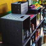 ikea coleccion ps 2017 ph139229 caja carton recuperado macizo gris