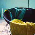 ikea coleccion ps 2017 ph139238 manta poliester verde amarillo