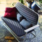 ikea coleccion ps 2017 ph139245 sofa 2 plazas plegable acero poliester gris