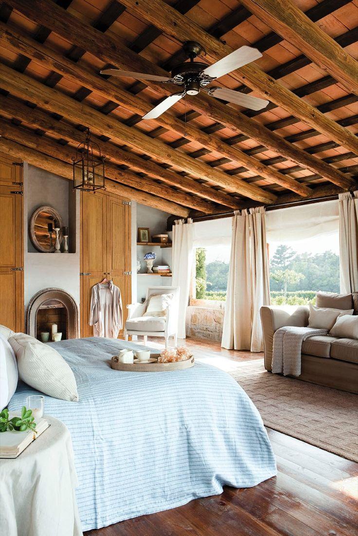 decoración de las casas rústicas - materiales
