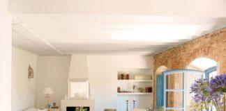 decoración de las casas rústicas - colores