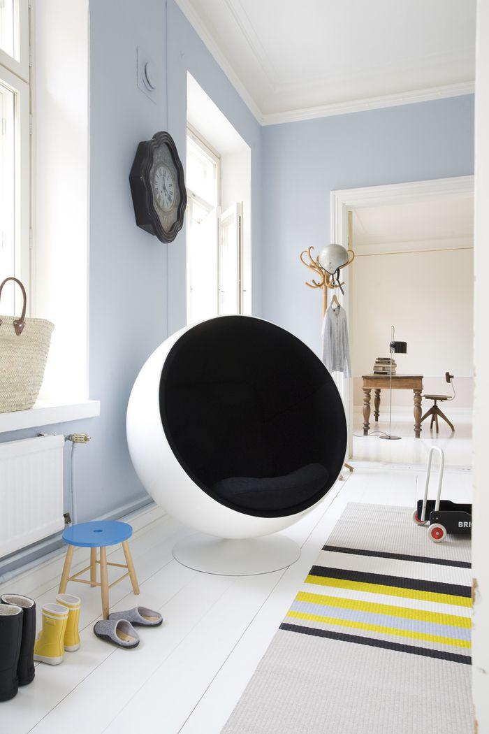 muebles escandinavos - silla Ball