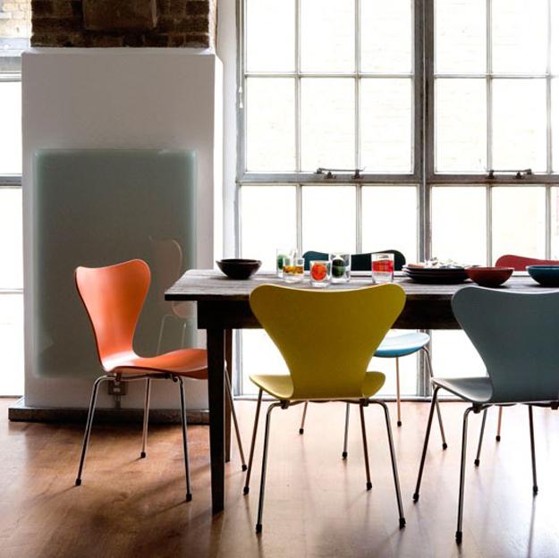 muebles escandinavos - silla serie 7