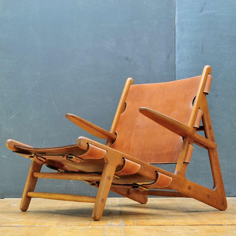 muebles escandinavos - sillón de exterior de Borge Mogensen.