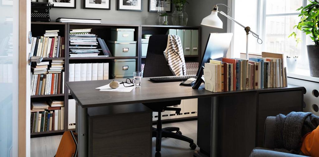 mobiliario de oficina- escritorio madera