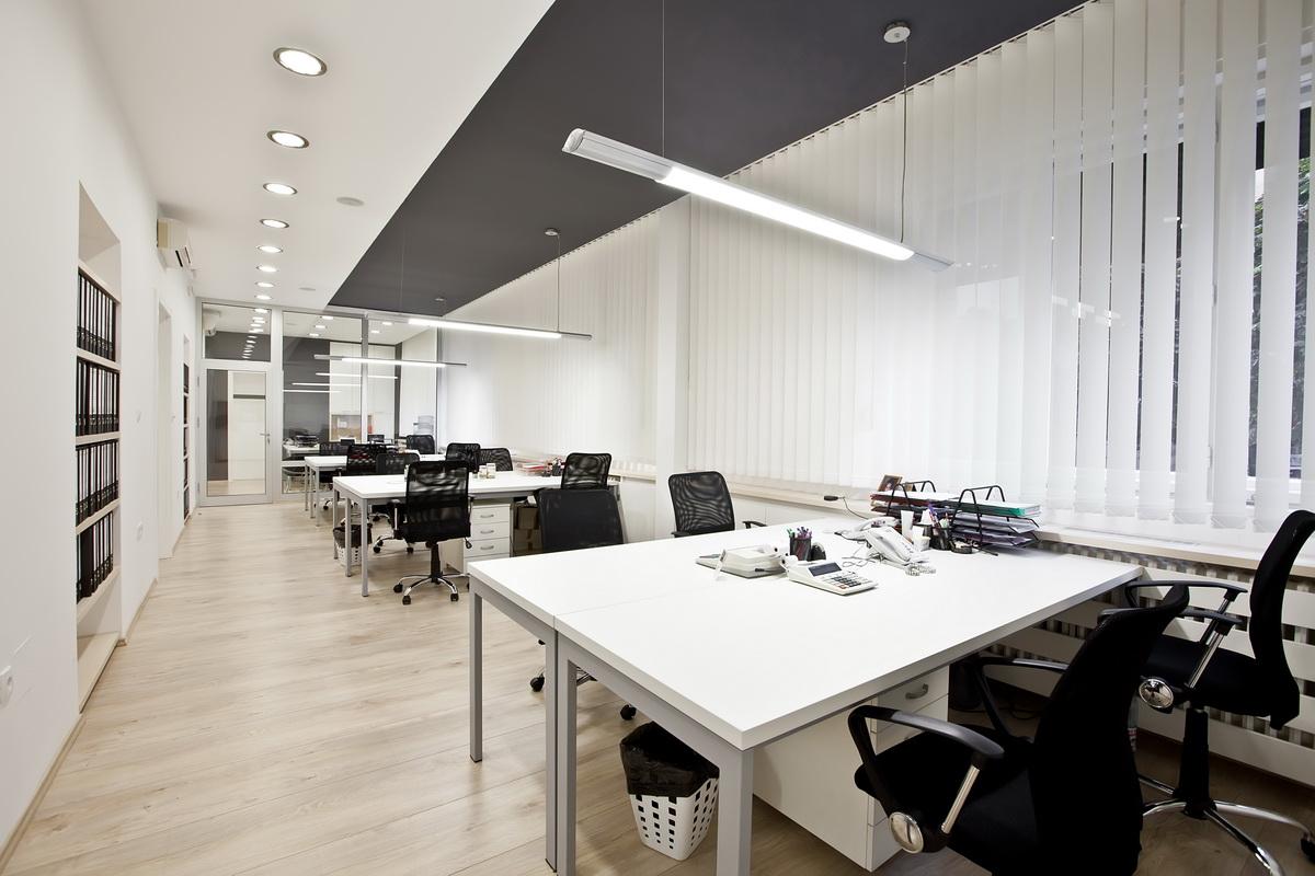 mobiliario de oficina - iluminación