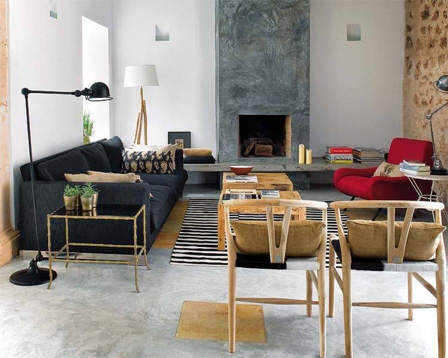 Decoración de salones - alfombras