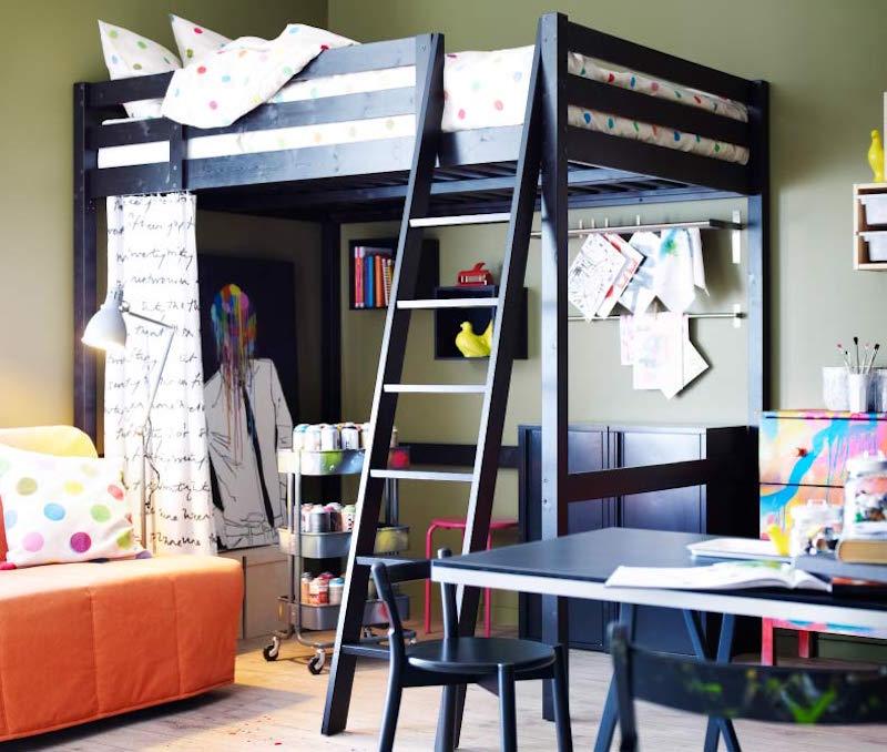 Dormitorios juveniles modernos con literas