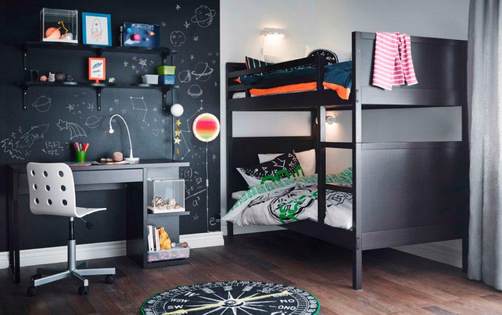 Dormitorios juveniles modernos de Ikea