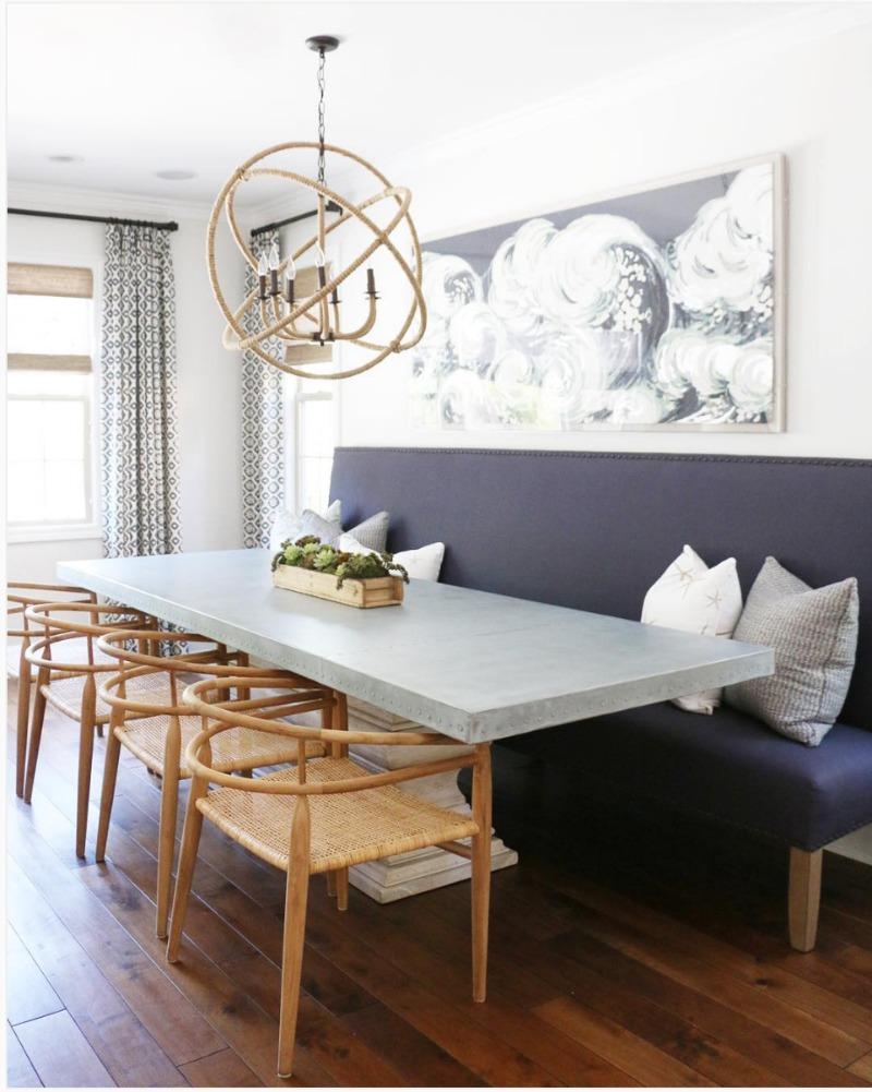sillas de comedor con banco