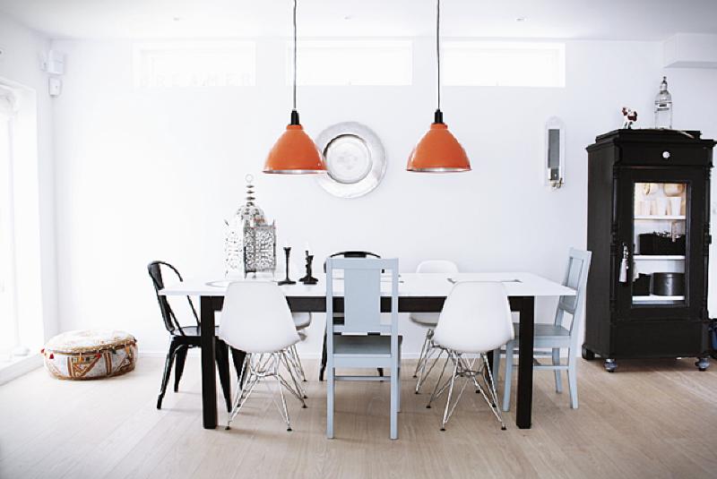 sillas de comedor de varios materiales