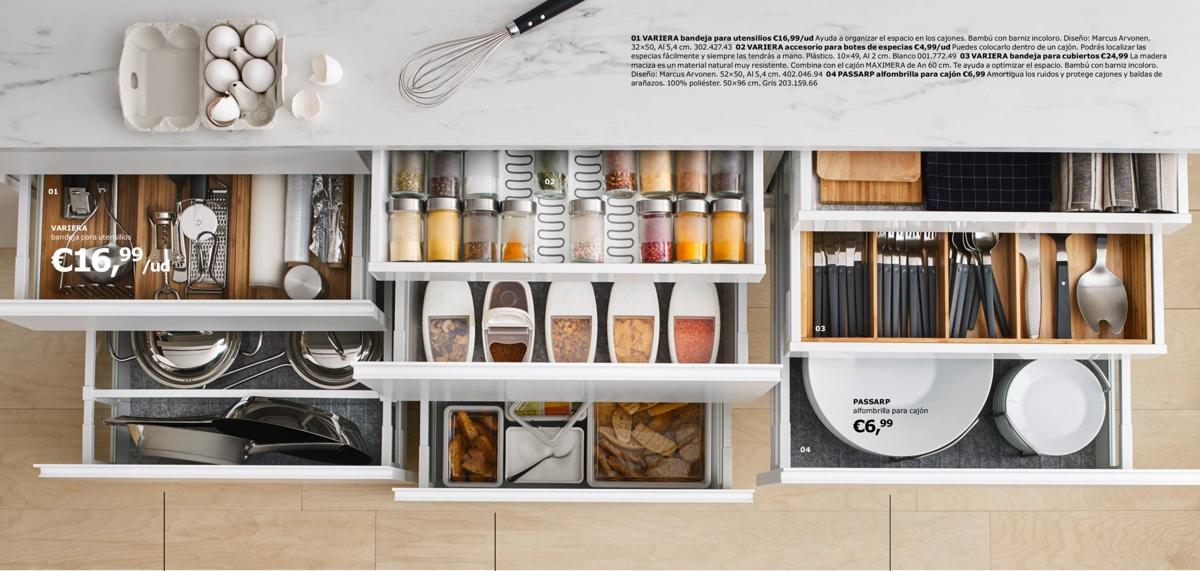 Cocinas Ikea - cajones