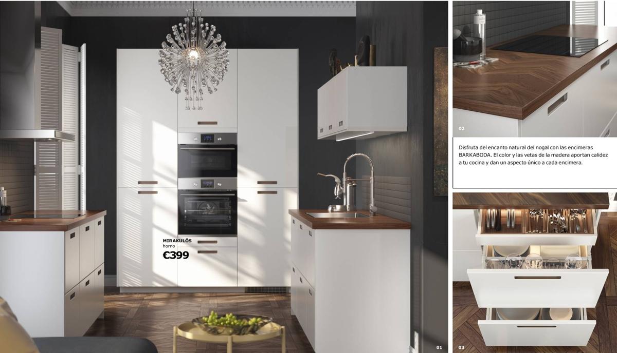 Cocinas Ikea - tiradores integrados