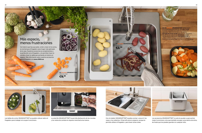 Cocinas Ikea - Accesorios Gundvattnet