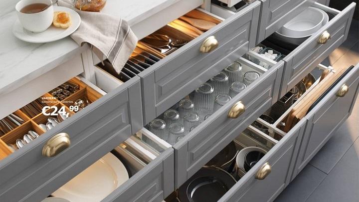Cocinas Ikea - sistema de almacenaje
