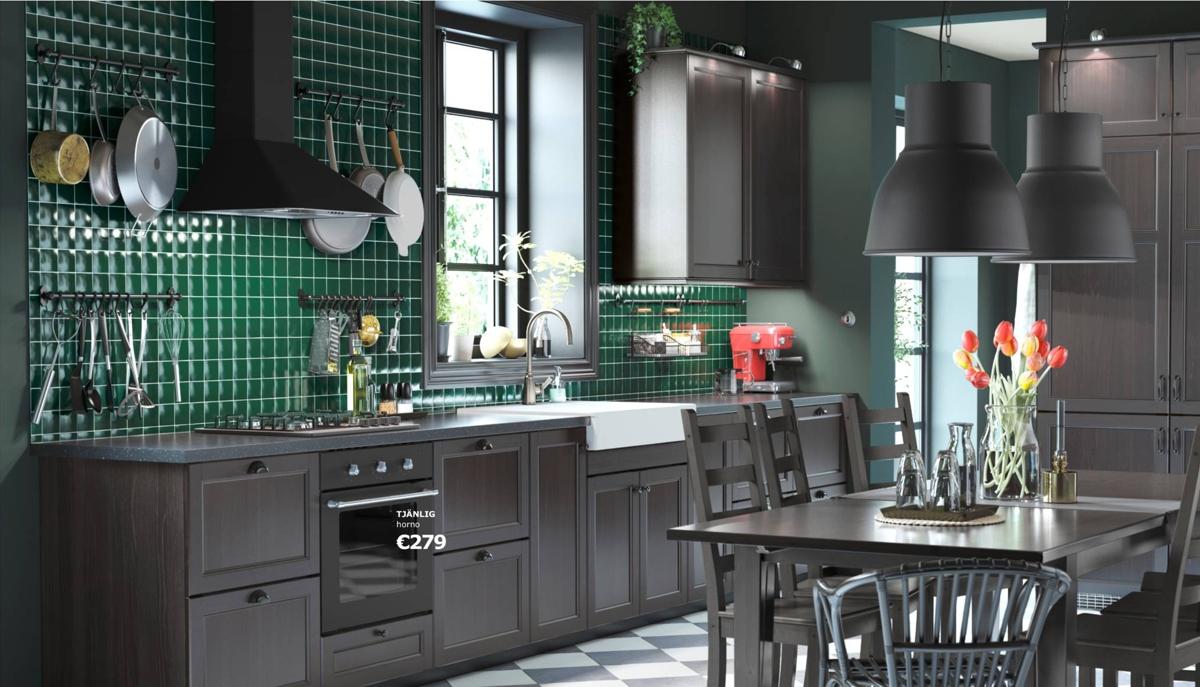 Cocinas Ikea - estilo rústico