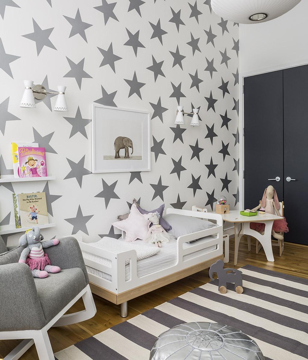 Habitaciones infantiles - papel pintado
