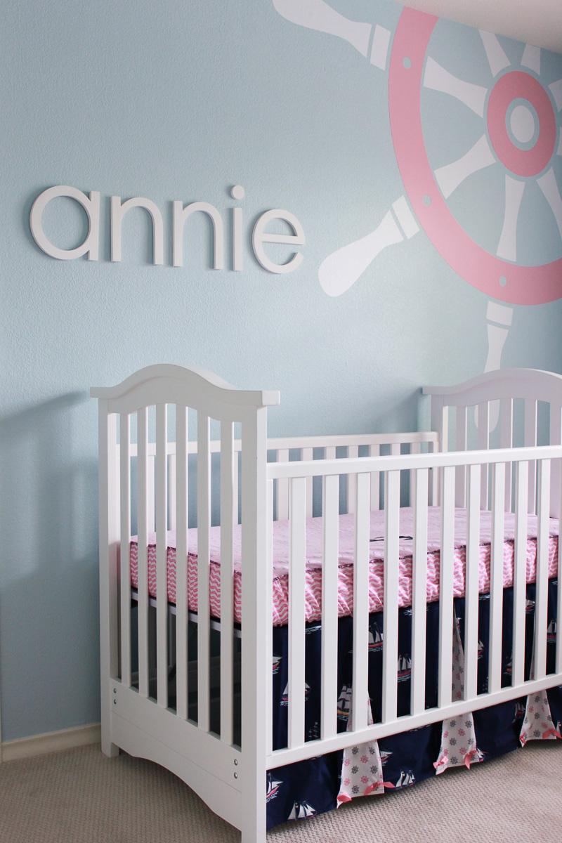 Habitaciones infantiles - Decora con letras y números
