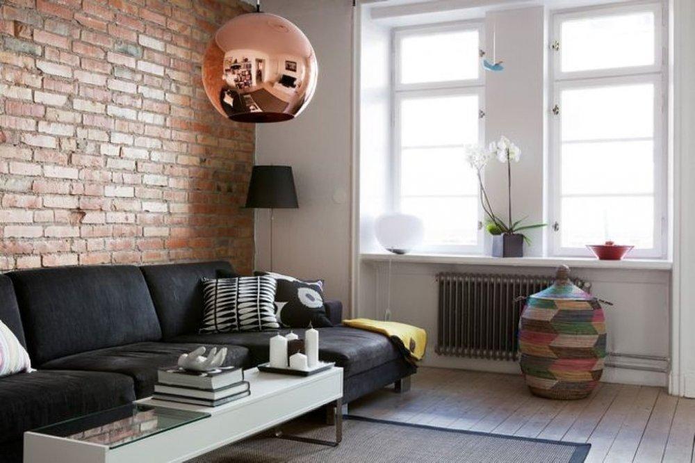 Decoración de interiores - lámpara de cobre