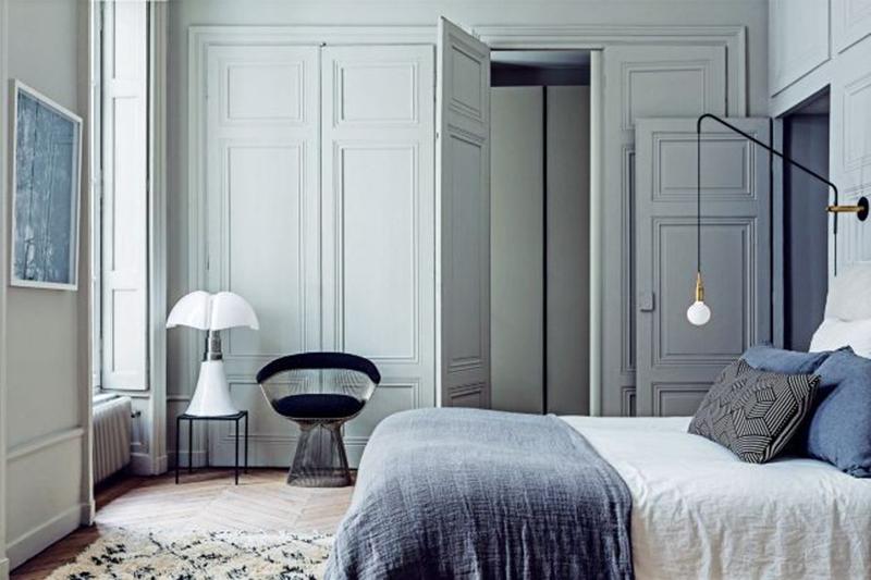 Decoración de interiores - dormitorio