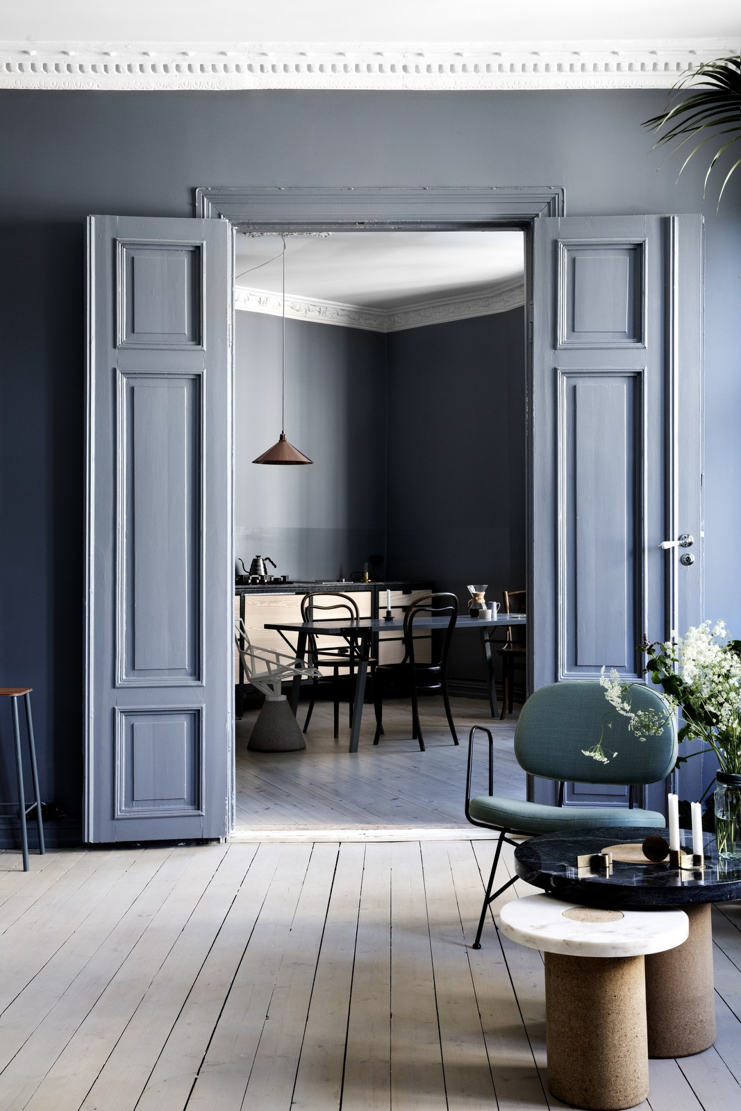 Decoración de interiores - Azul Niágara