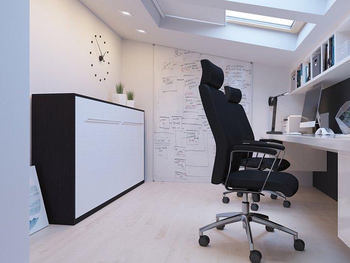 Cama plegable y cómoda en la oficina