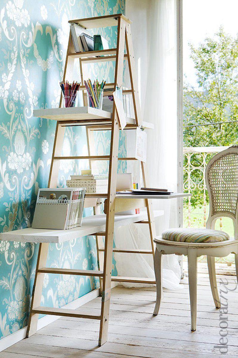 Decorar con una escalera - libreria