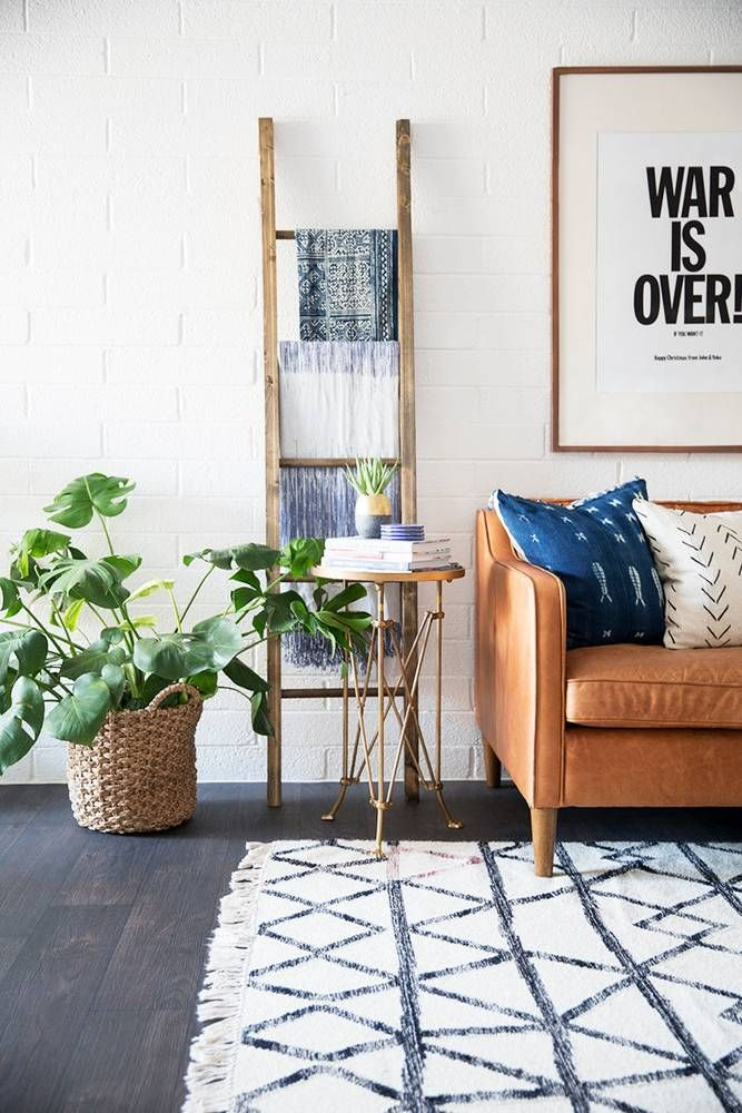 Decorar con una escalera - la zona de estar