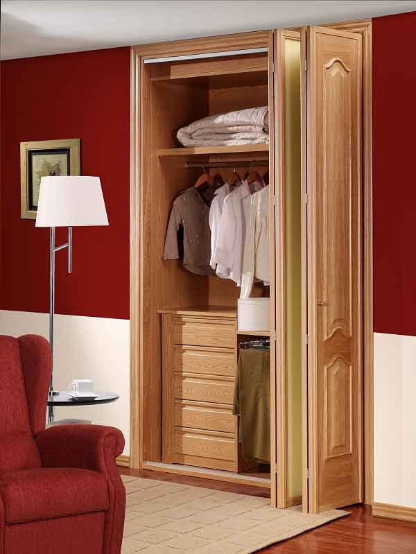 Diseños de puertas de armarios de madera