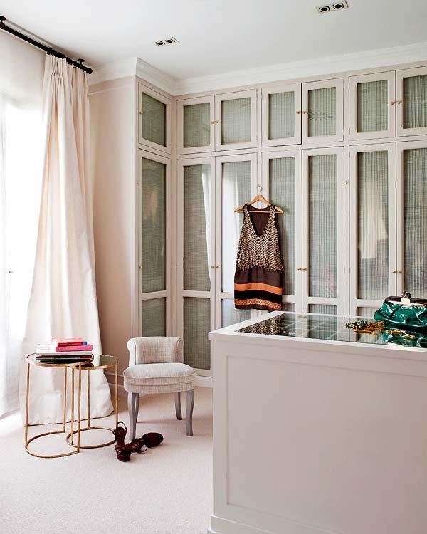 Diseños de puertas de armarios - vestidor