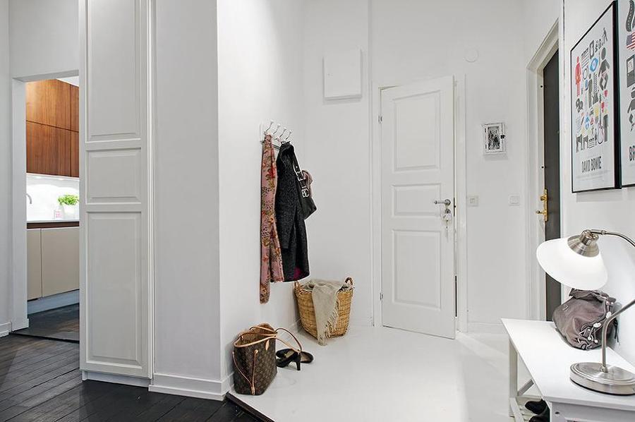 Los recibidores - estilo nórdico