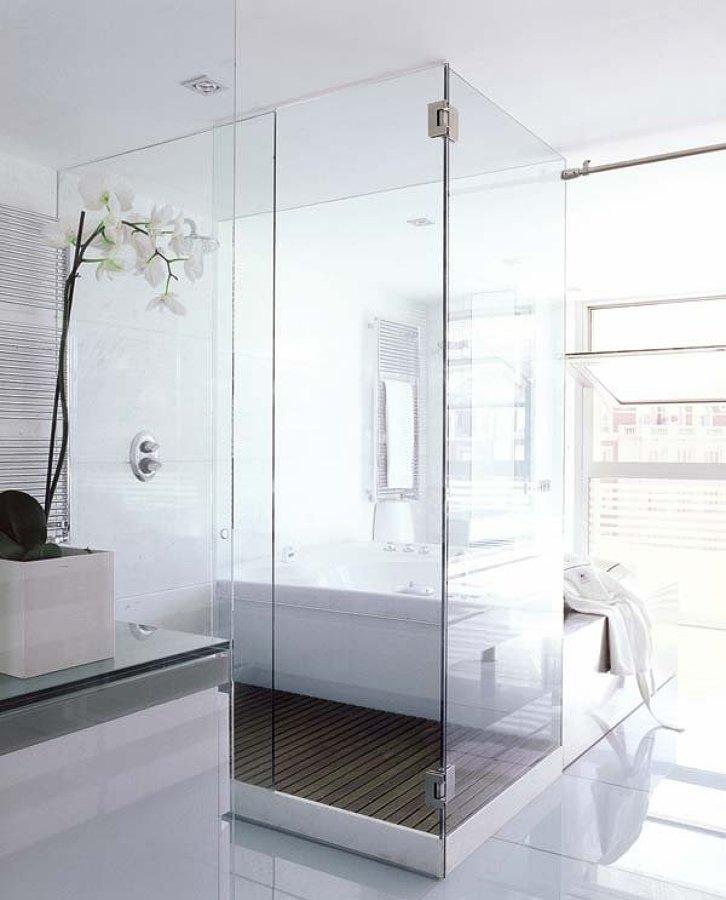 Baños modernos con ducha y bañera