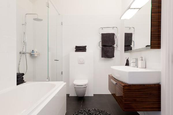 Baños modernos - mobiliario