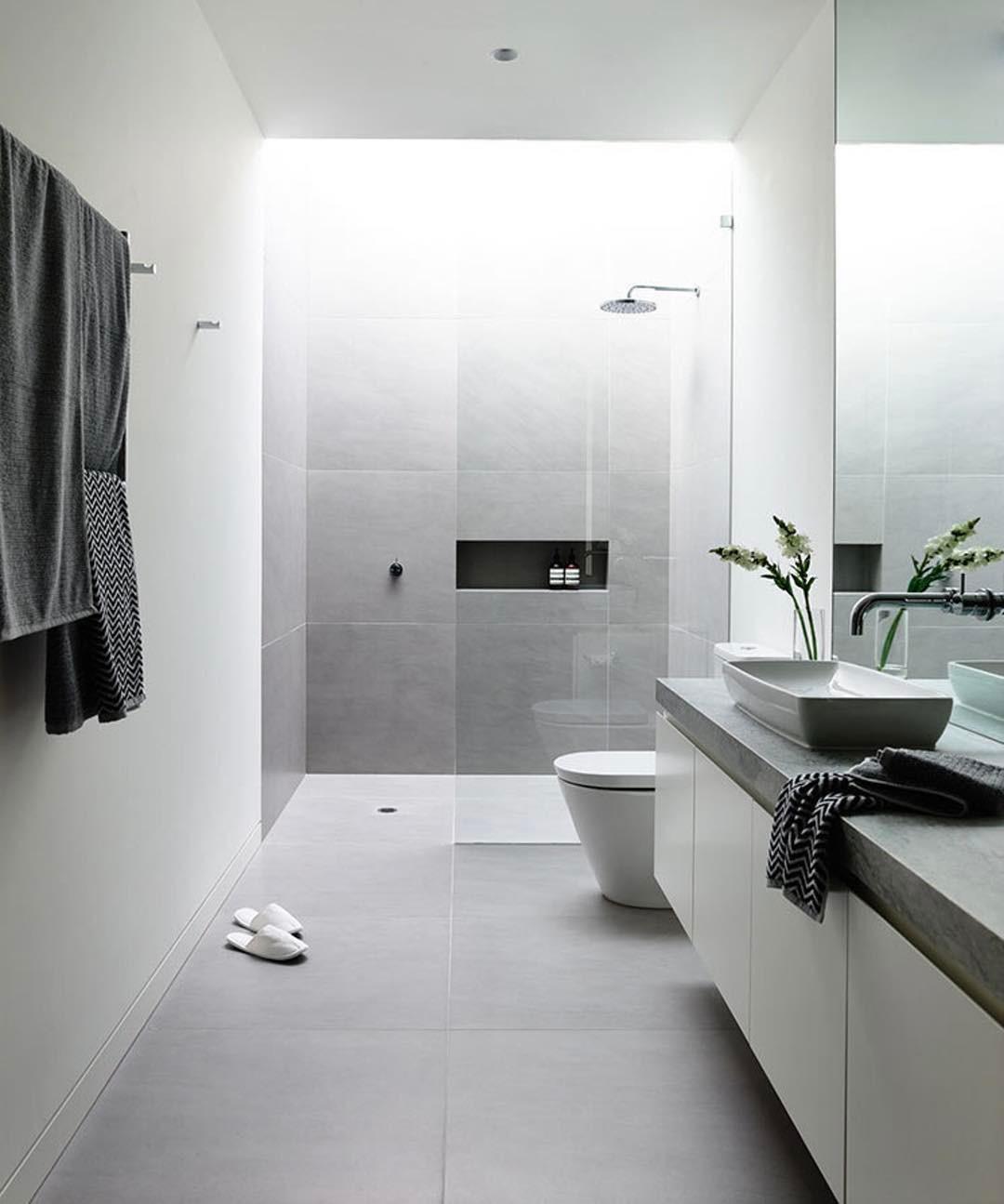 Baños modernos y actuales
