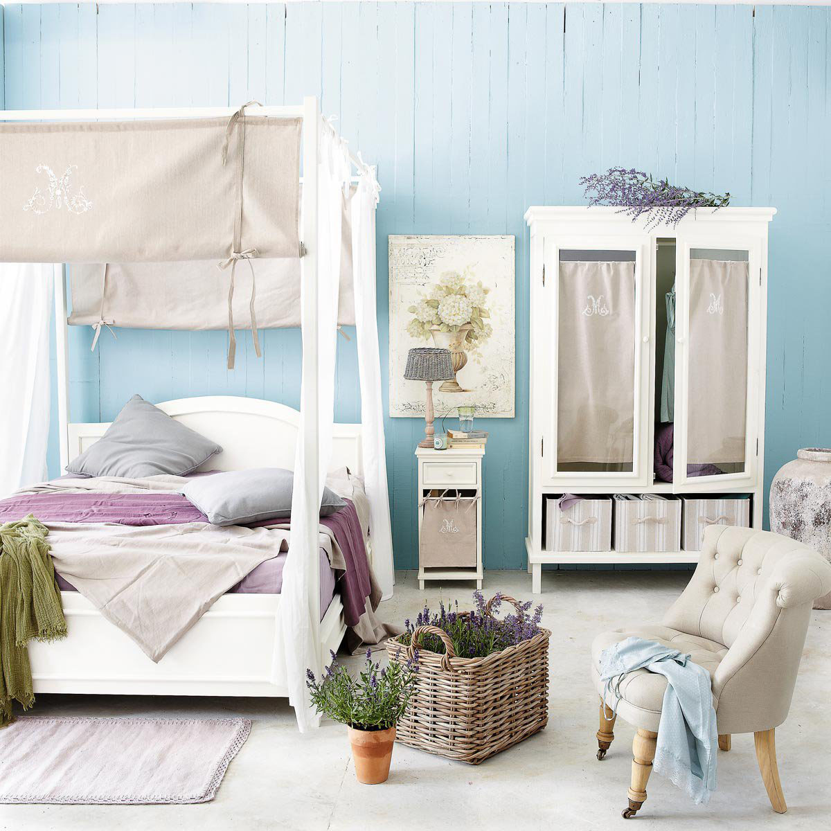 Dormitorios - camas con dosel