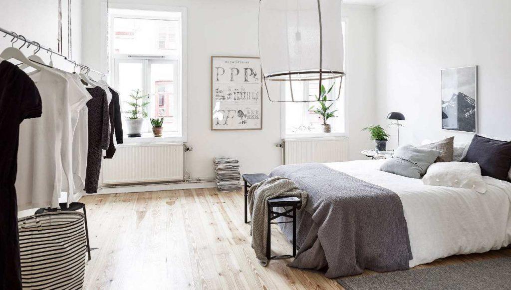Dormitorios de estilo nórdico