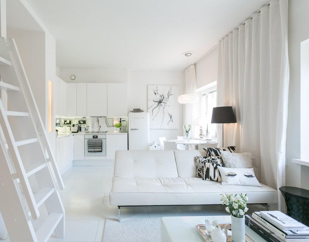 piso en blanco