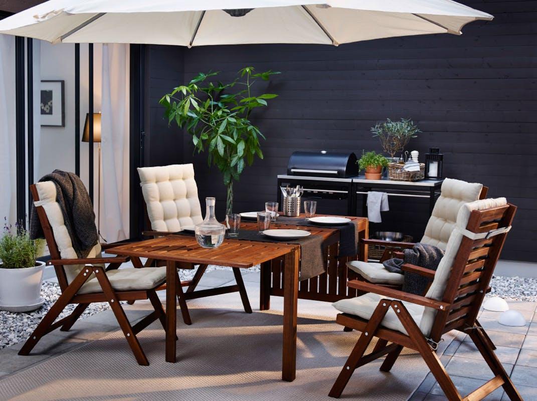 Muebles de terraza - sombrillas