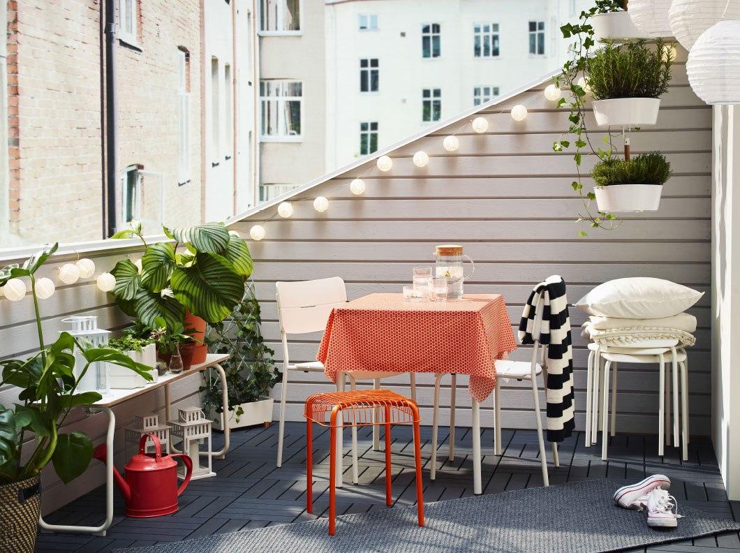 Muebles de terraza - iluminación