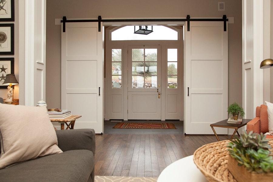 Puertas correderas en el salón
