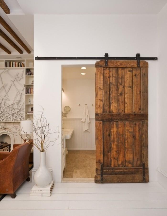 Puertas correderas en el baño