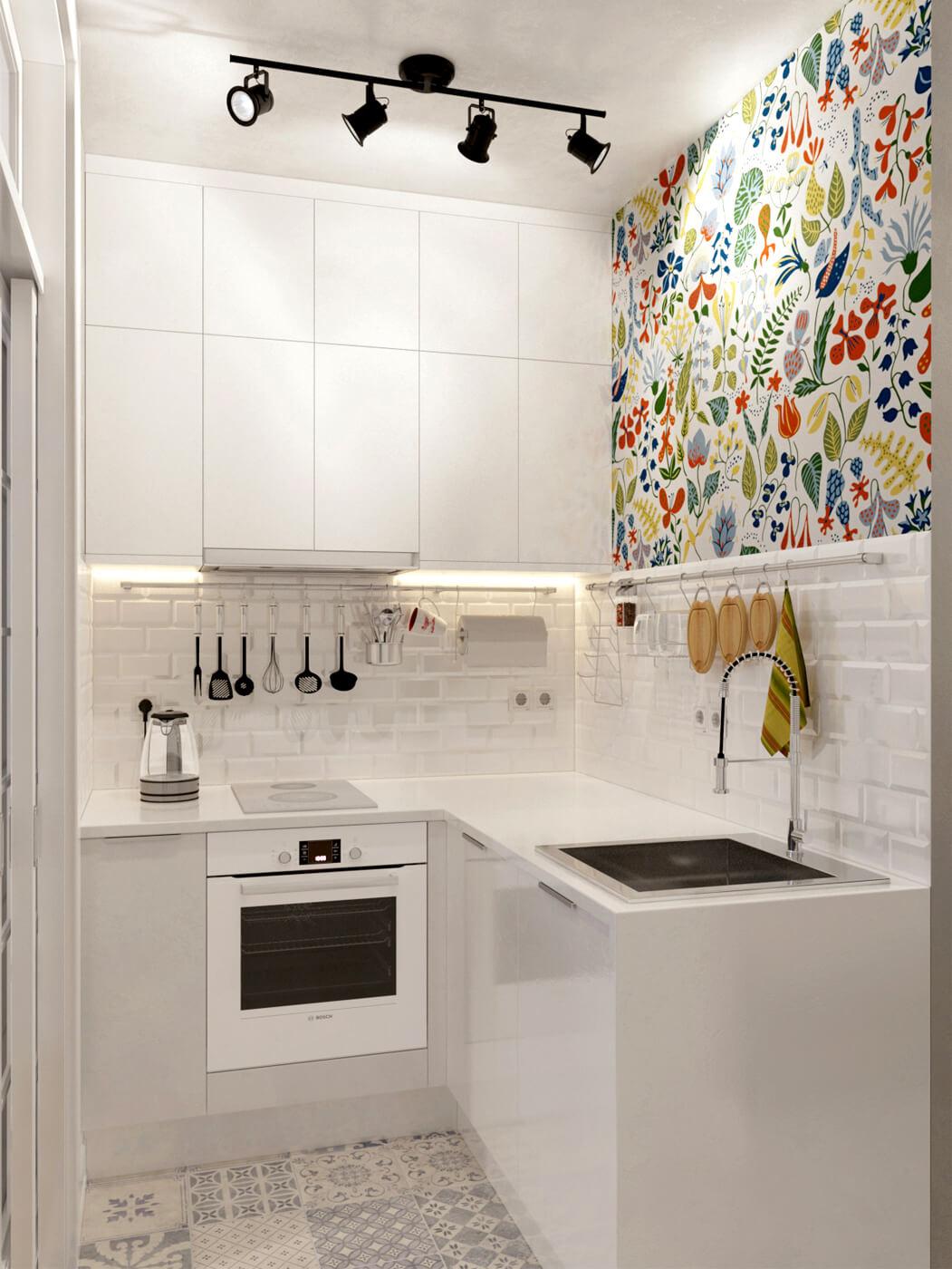 Iluminación interior - cocina