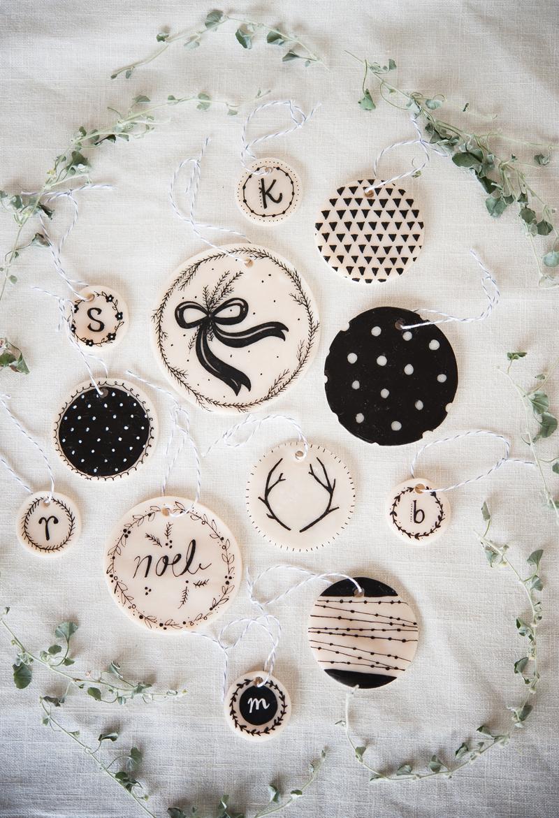 decoración nórdica - etiquetas personalizadas